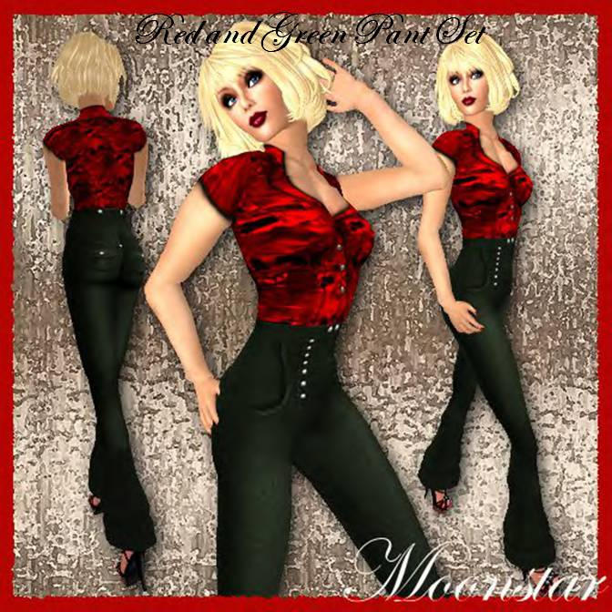 red-and-green-pant-set-by-moonstar
