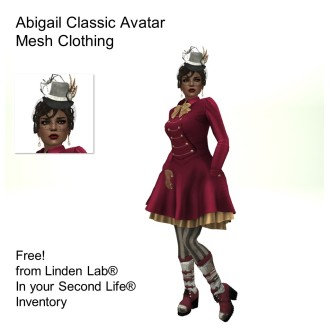 LL Avatar - Female - Abigail