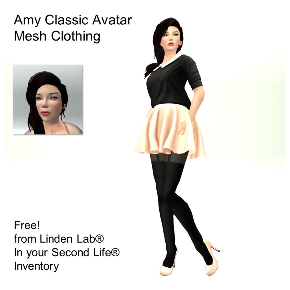 LL Avatar - Female - Amy