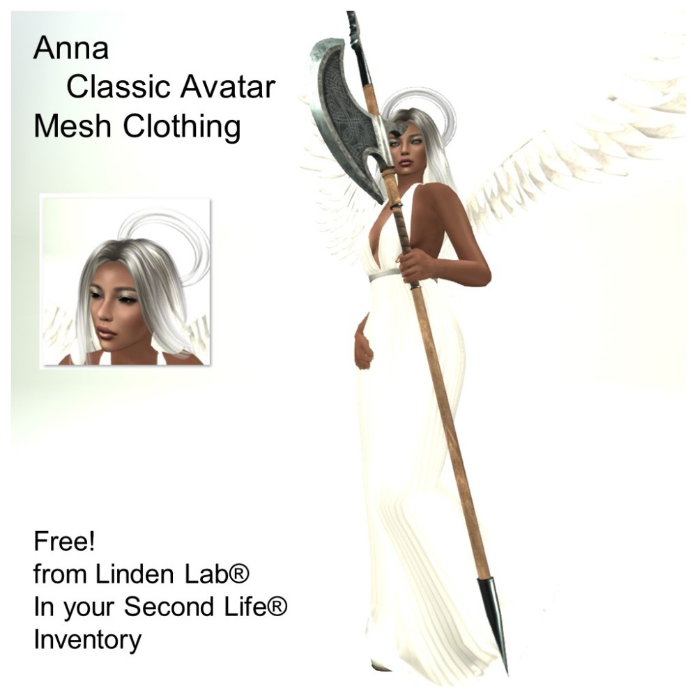 LL Avatar - Female - Anna