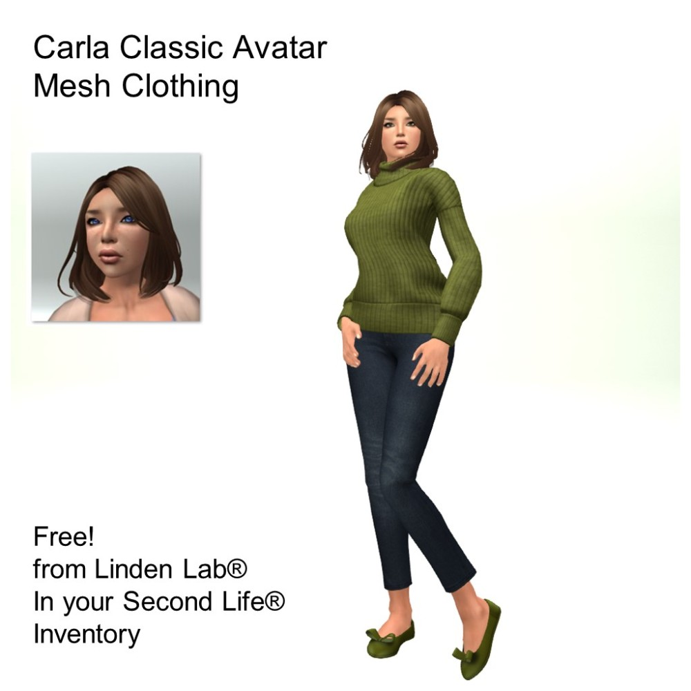 LL Avatar - Female - Carla