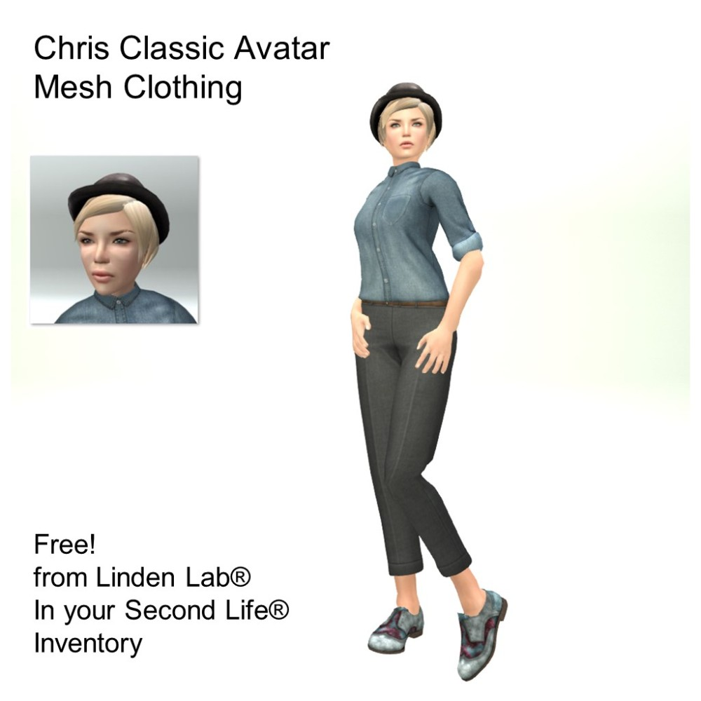 LL Avatar - Female - Chris