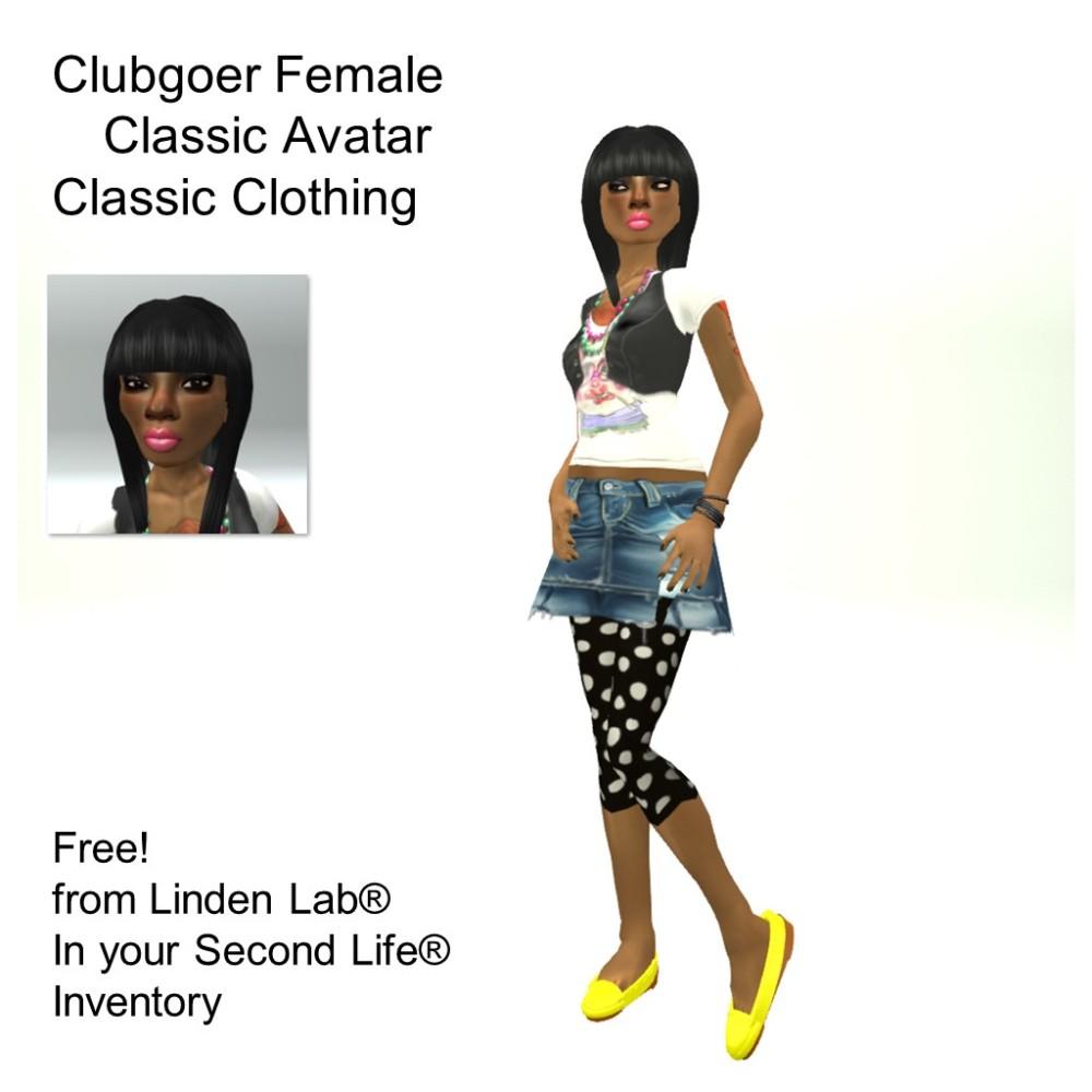 LL Avatar - Female - Clubgoer Female