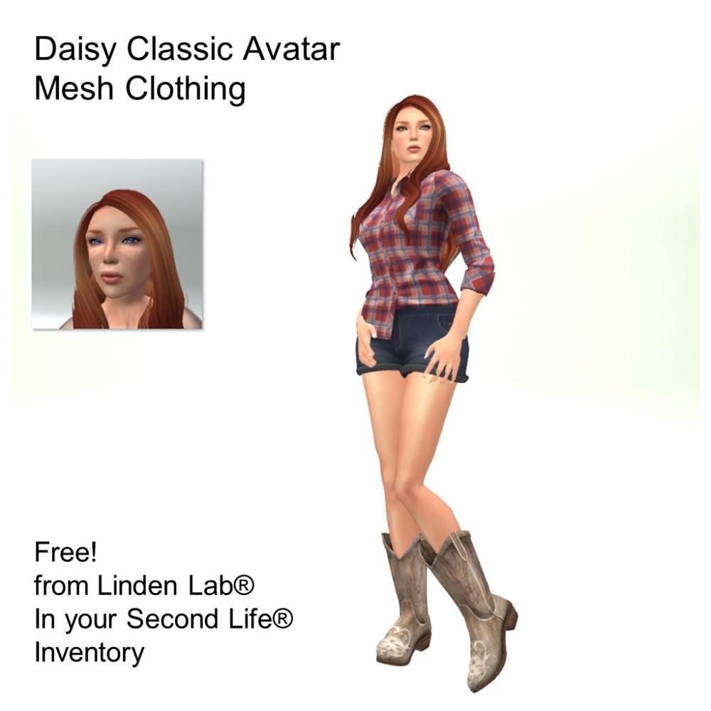 LL Avatar - Female - Daisy