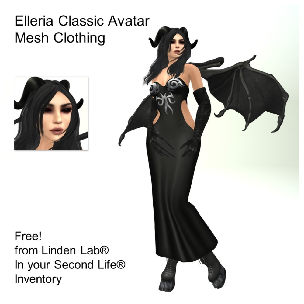 LL Avatar - Female - Elleria