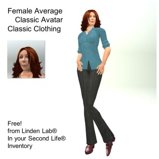 LL Avatar - Female - Female Average
