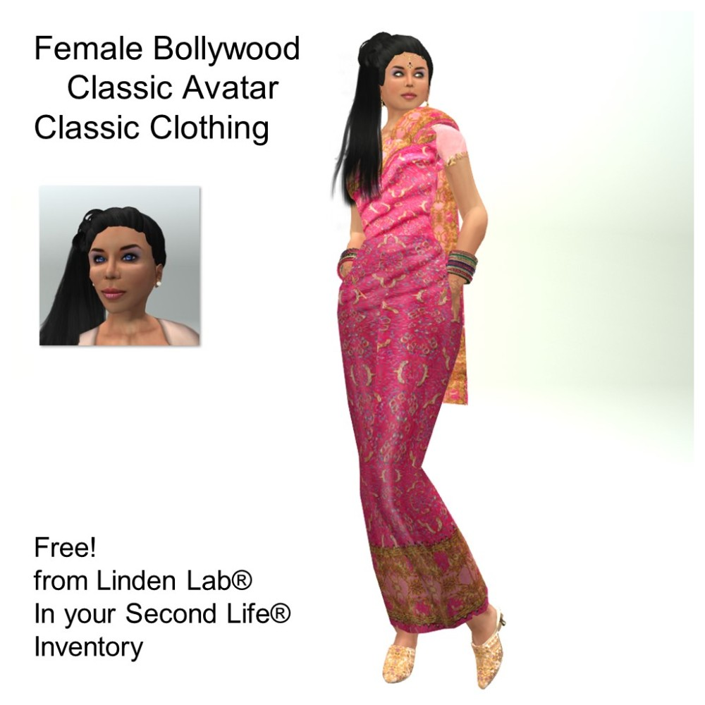 LL Avatar - Female - Female Bollywood
