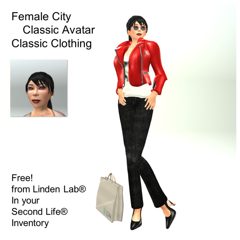 LL Avatar - Female - Female City