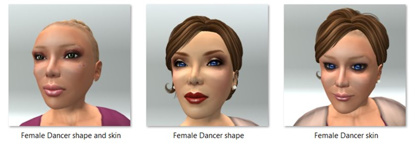 LL Avatar - Female - Female Dancer