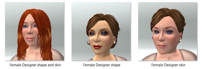 LL Avatar - Female - Female Designer