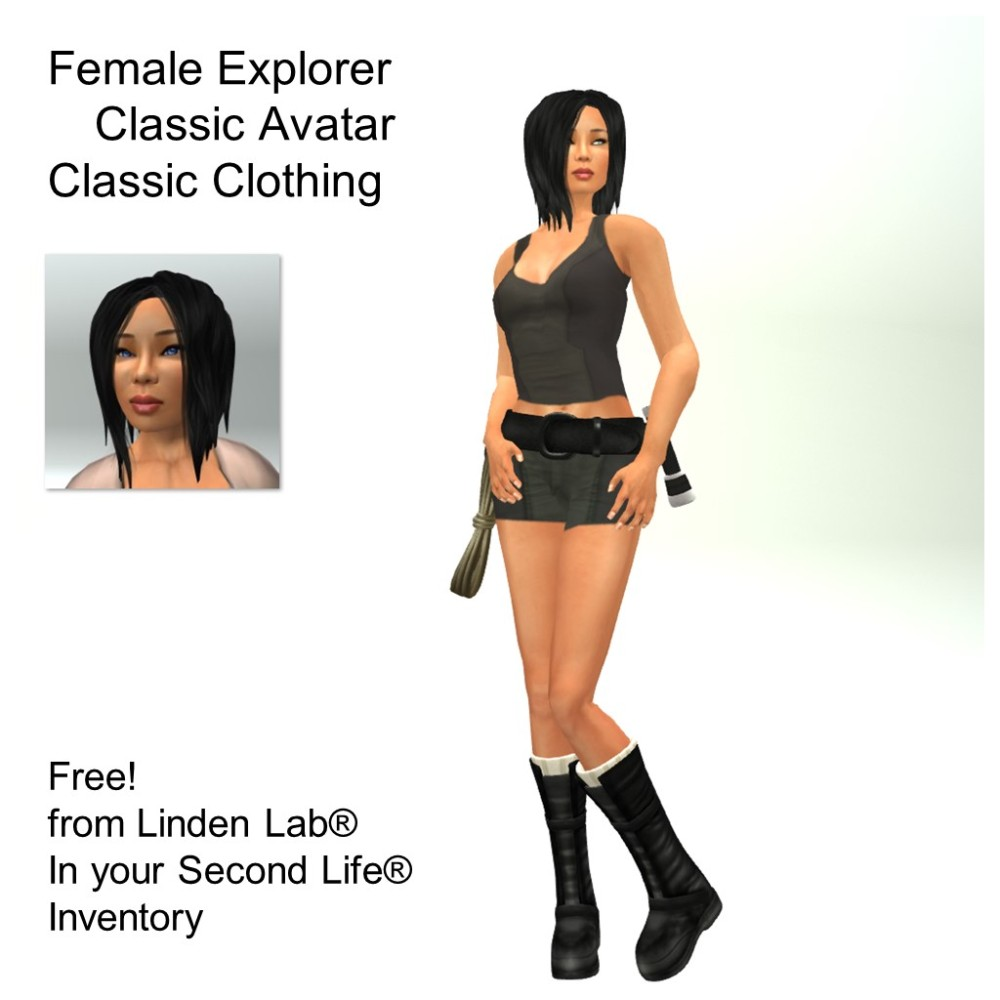 LL Avatar - Female - Female Explorer