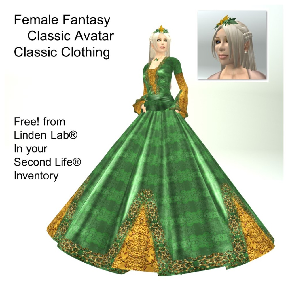 LL Avatar - Female - Female Fantasy