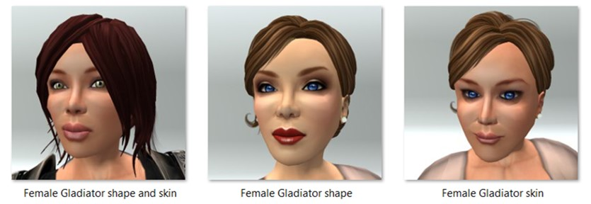 LL Avatar - Female - Female Gladiator