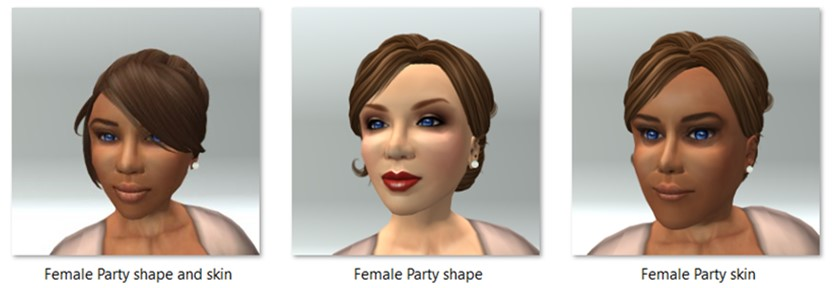 LL Avatar - Female - Female Party