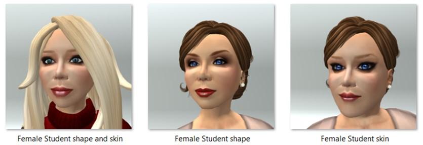 LL Avatar - Female - Female Student