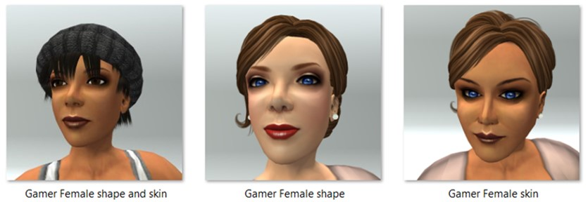 LL Avatar - Female - Gamer Female