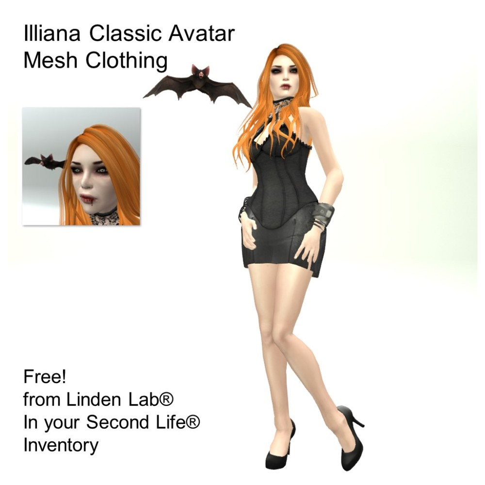 LL Avatar - Female - Illiana