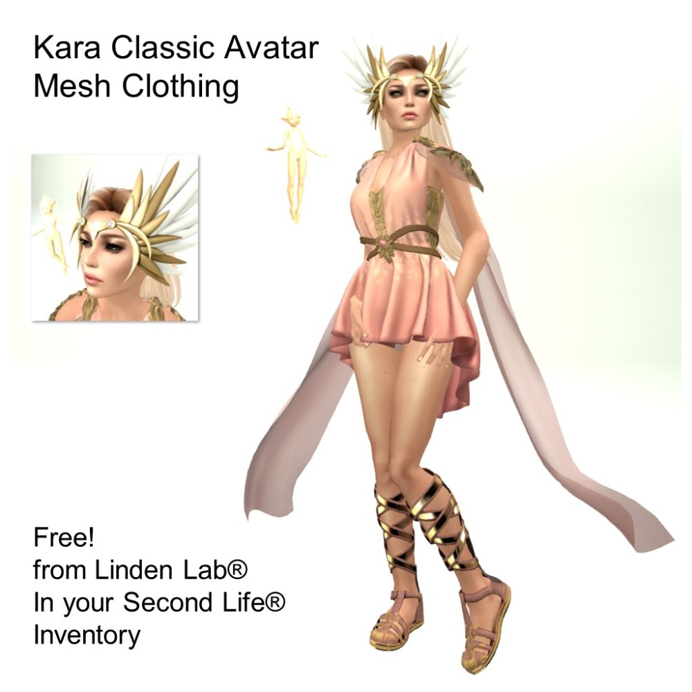 LL Avatar - Female - Kara