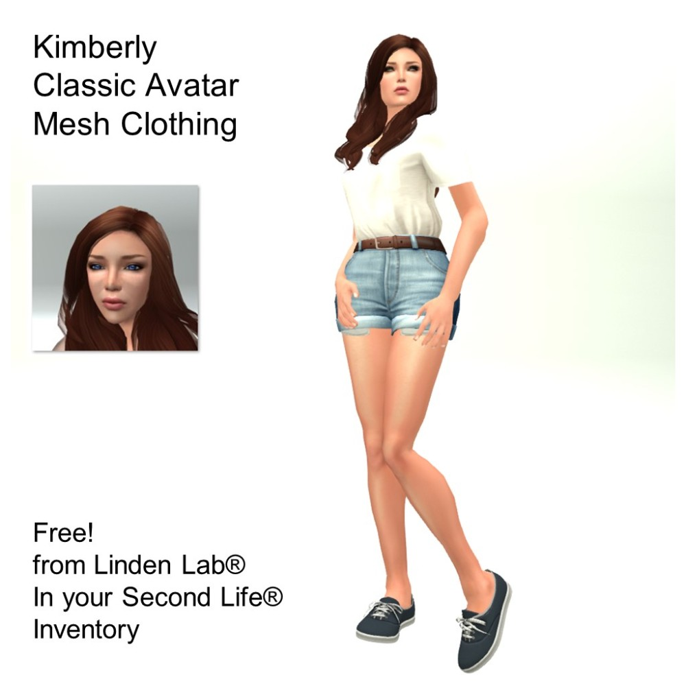 LL Avatar - Female - Kimberly
