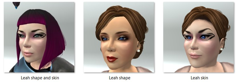 LL Avatar - Female - Leah