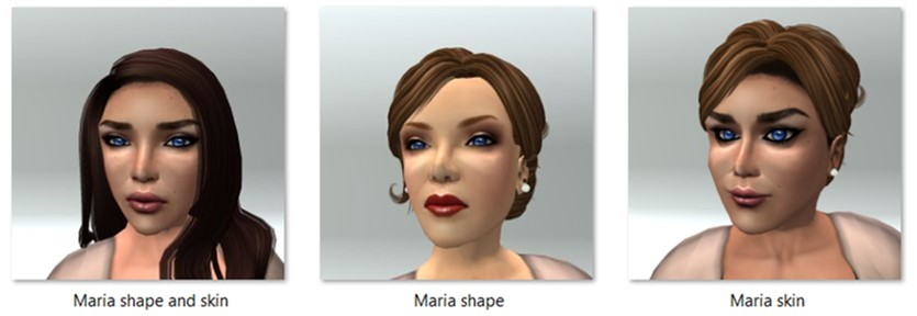 LL Avatar - Female - Maria