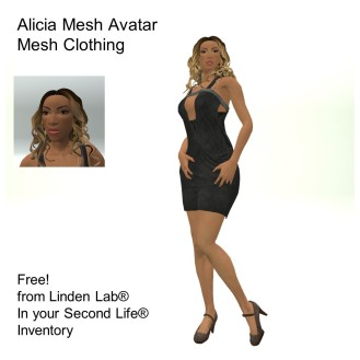 LL Avatar - Female Mesh - Alicia