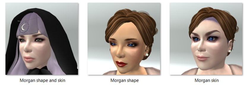 LL Avatar - Female - Morgan