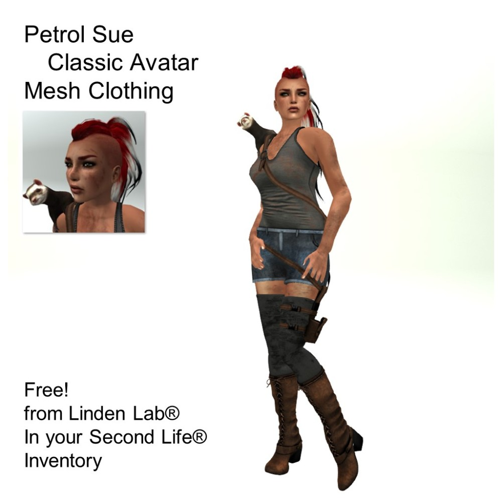 LL Avatar - Female - Petrol Sue