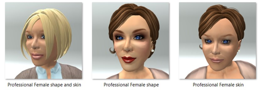 LL Avatar - Female - Professional Female