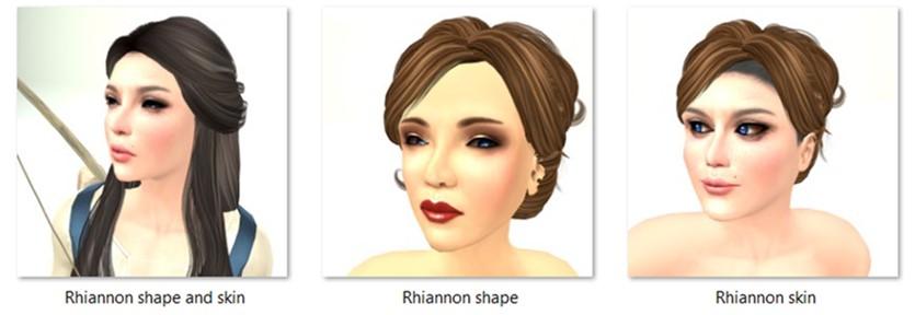 LL Avatar - Female - Rhiannon