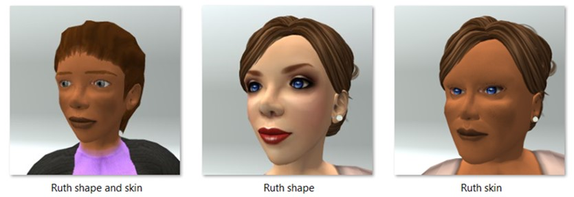 LL Avatar - Female - Ruth