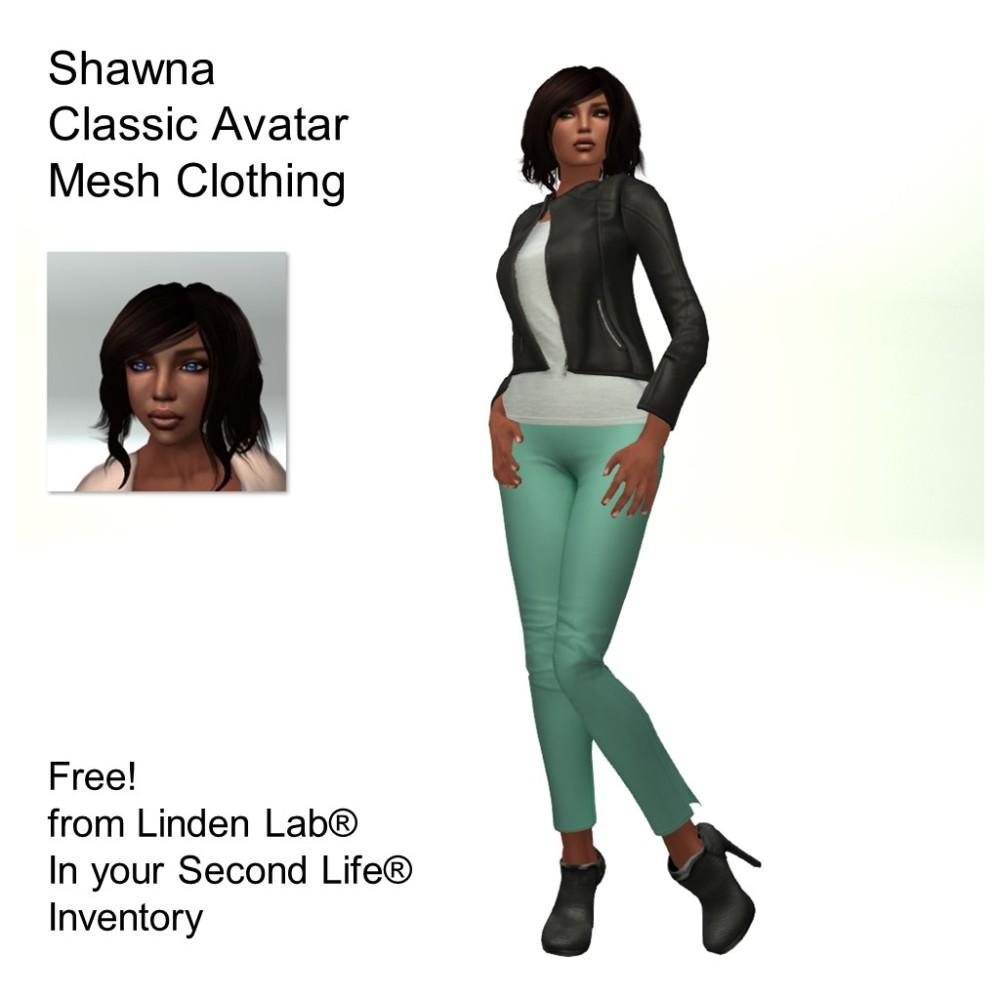 LL Avatar - Female - Shawna