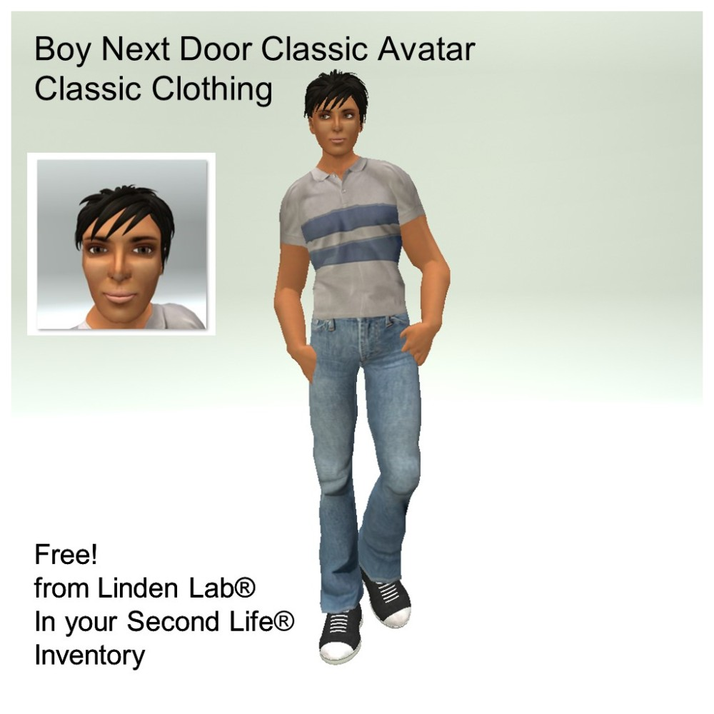 LL Avatar - Male - Boy Next Door
