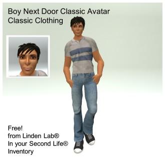 LL Avatar - Male - Boy Next Door