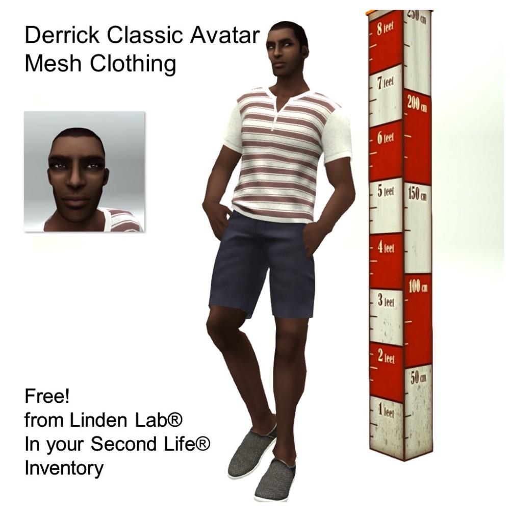LL Avatar - Male - Derrick