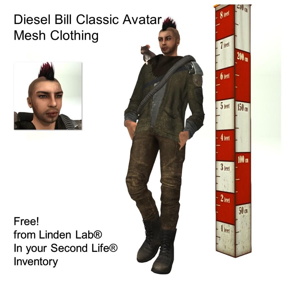 LL Avatar - Male - Diesel Bill