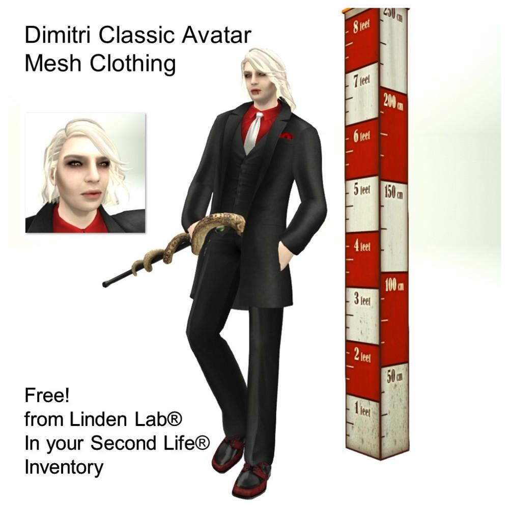 LL Avatar - Male - Dimitri