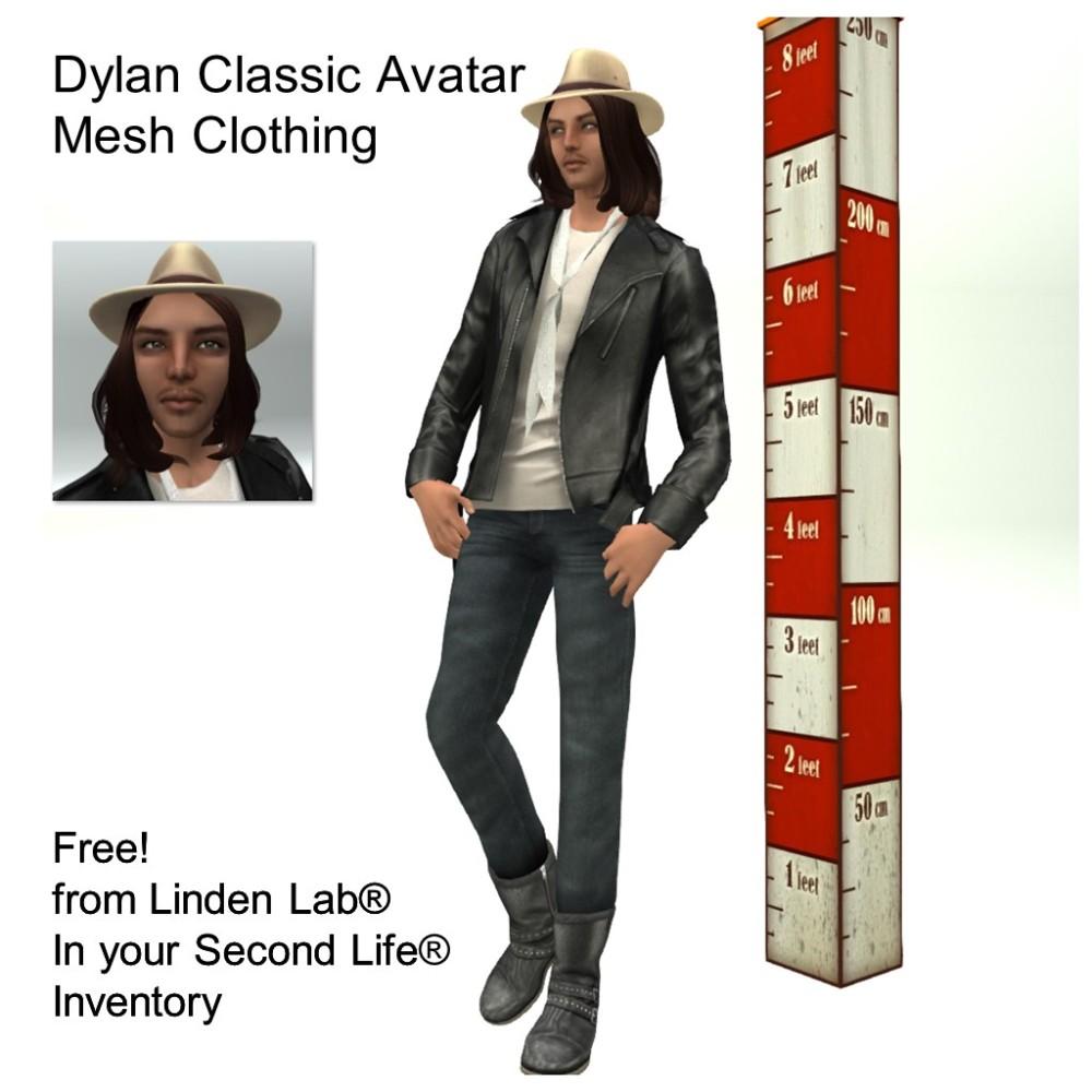 LL Avatar - Male - Dylan