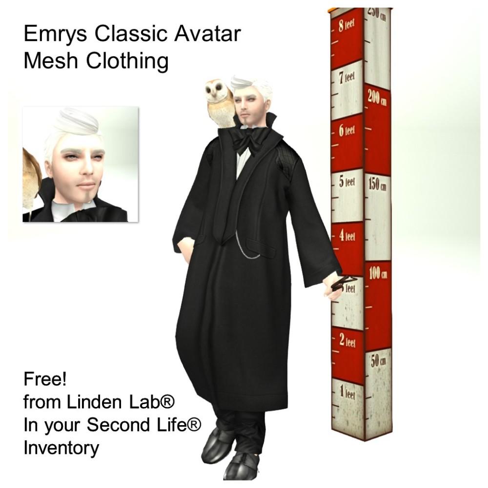 LL Avatar - Male - Emrys