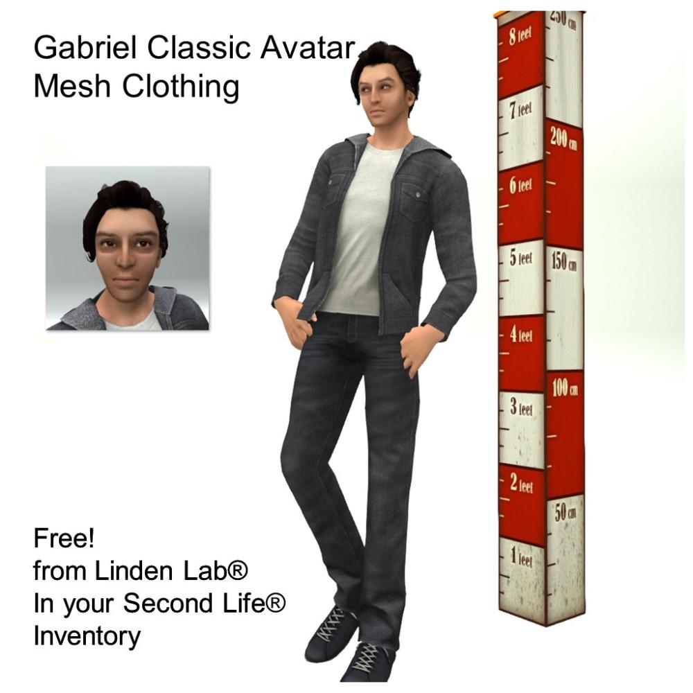 LL Avatar - Male - Gabriel