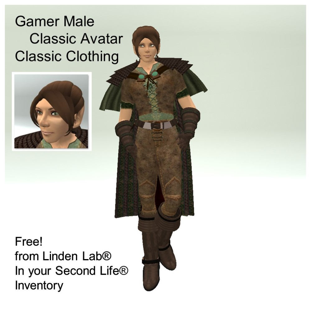 LL Avatar - Male - Gamer Male