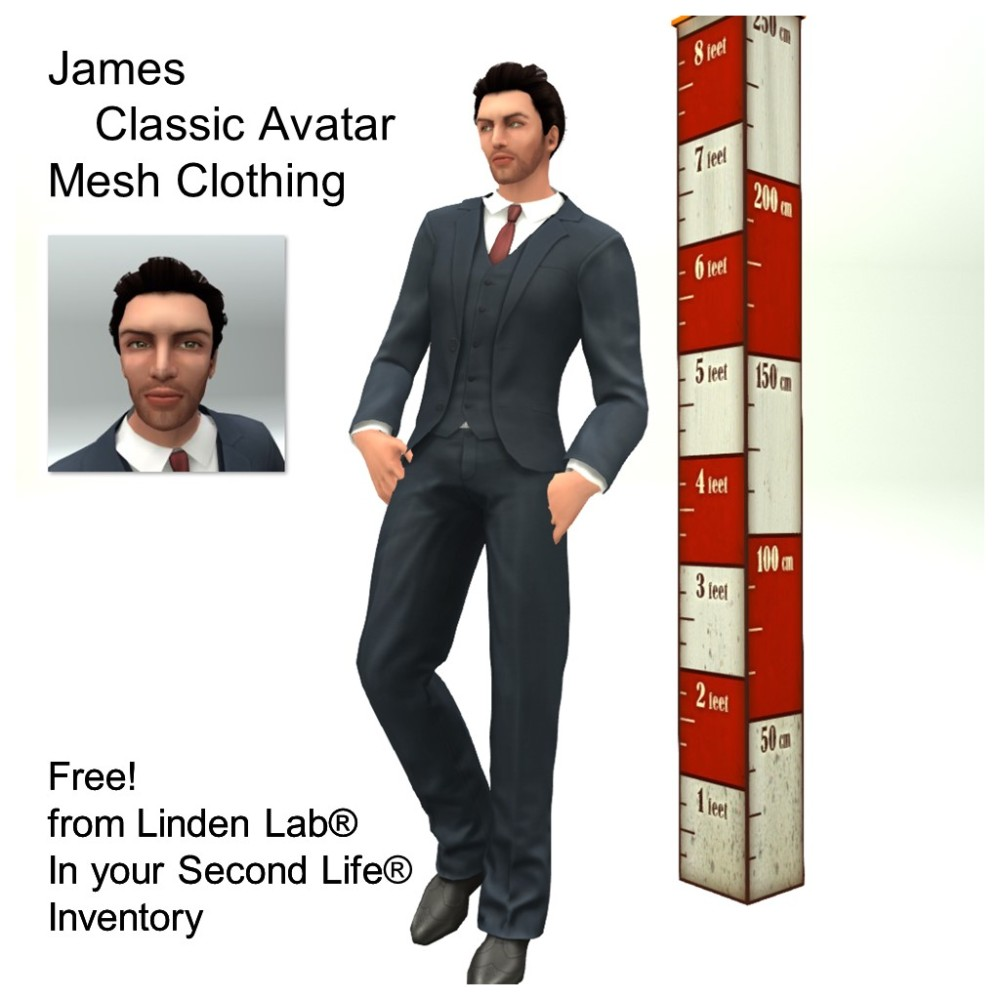 LL Avatar - Male - James