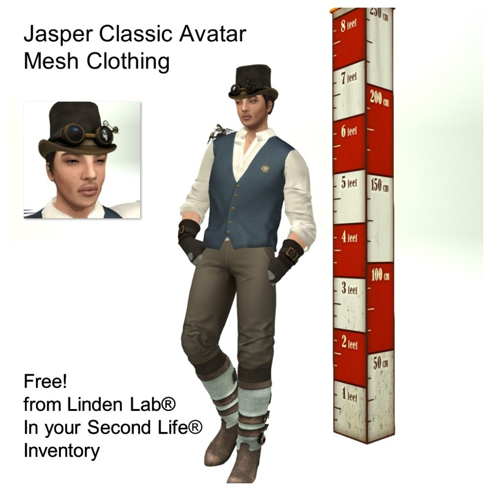 LL Avatar - Male - Jasper