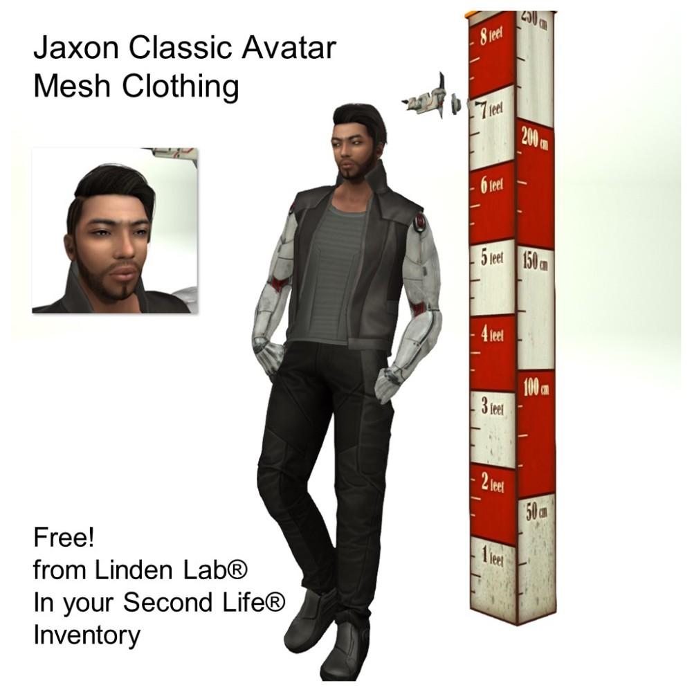 LL Avatar - Male - Jaxon