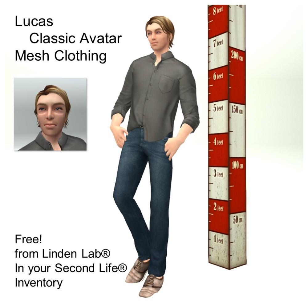 LL Avatar - Male - Lucas
