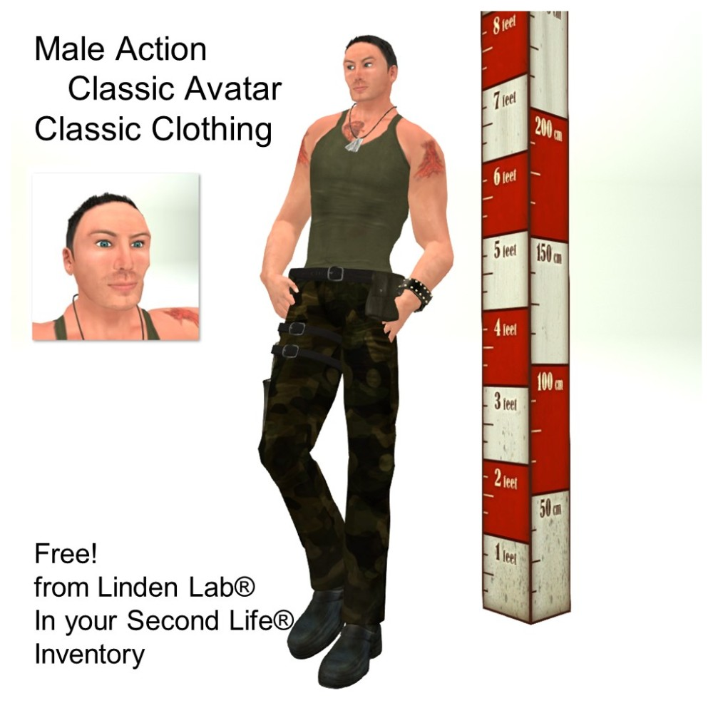 LL Avatar - Male - Male Action