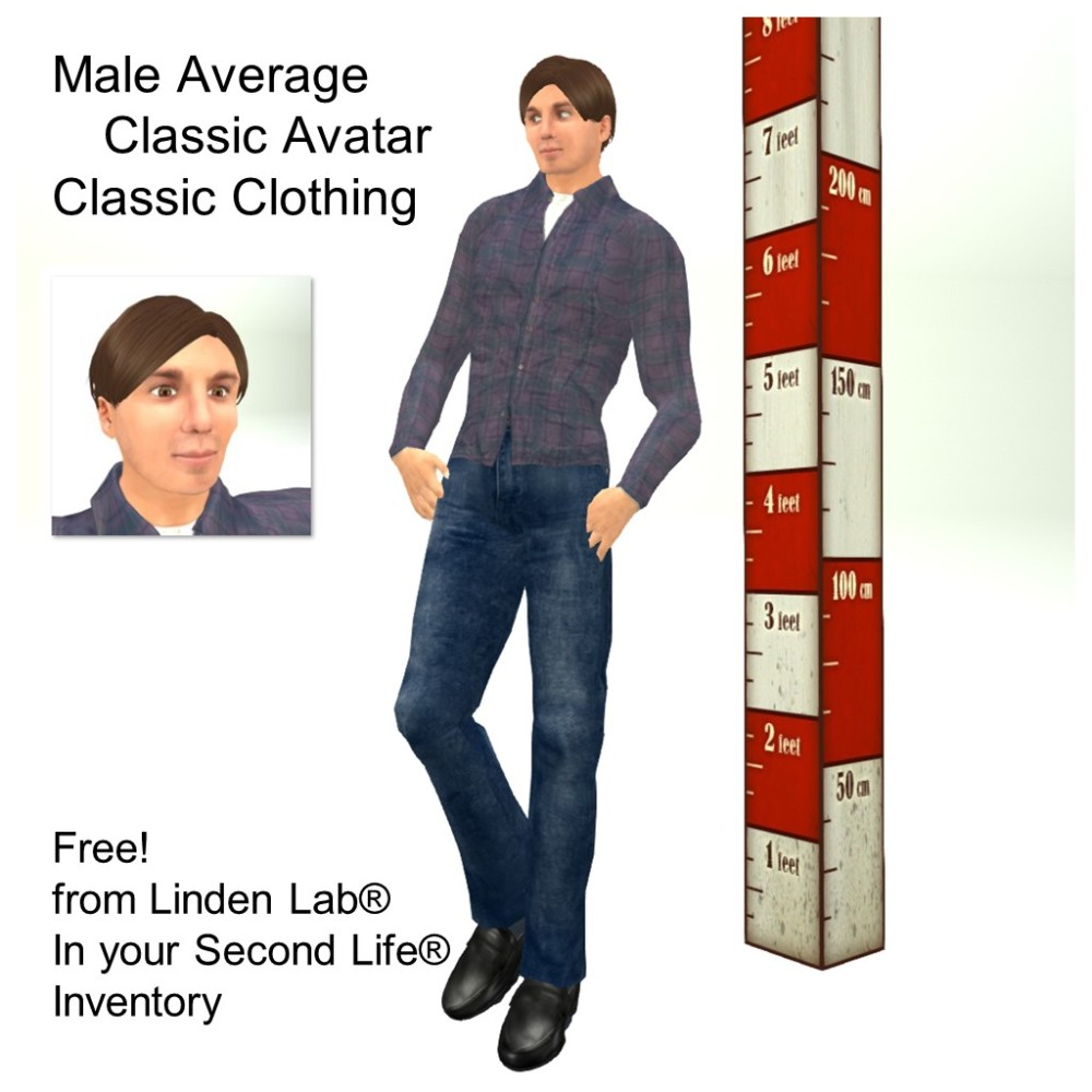 LL Avatar - Male - Male Average