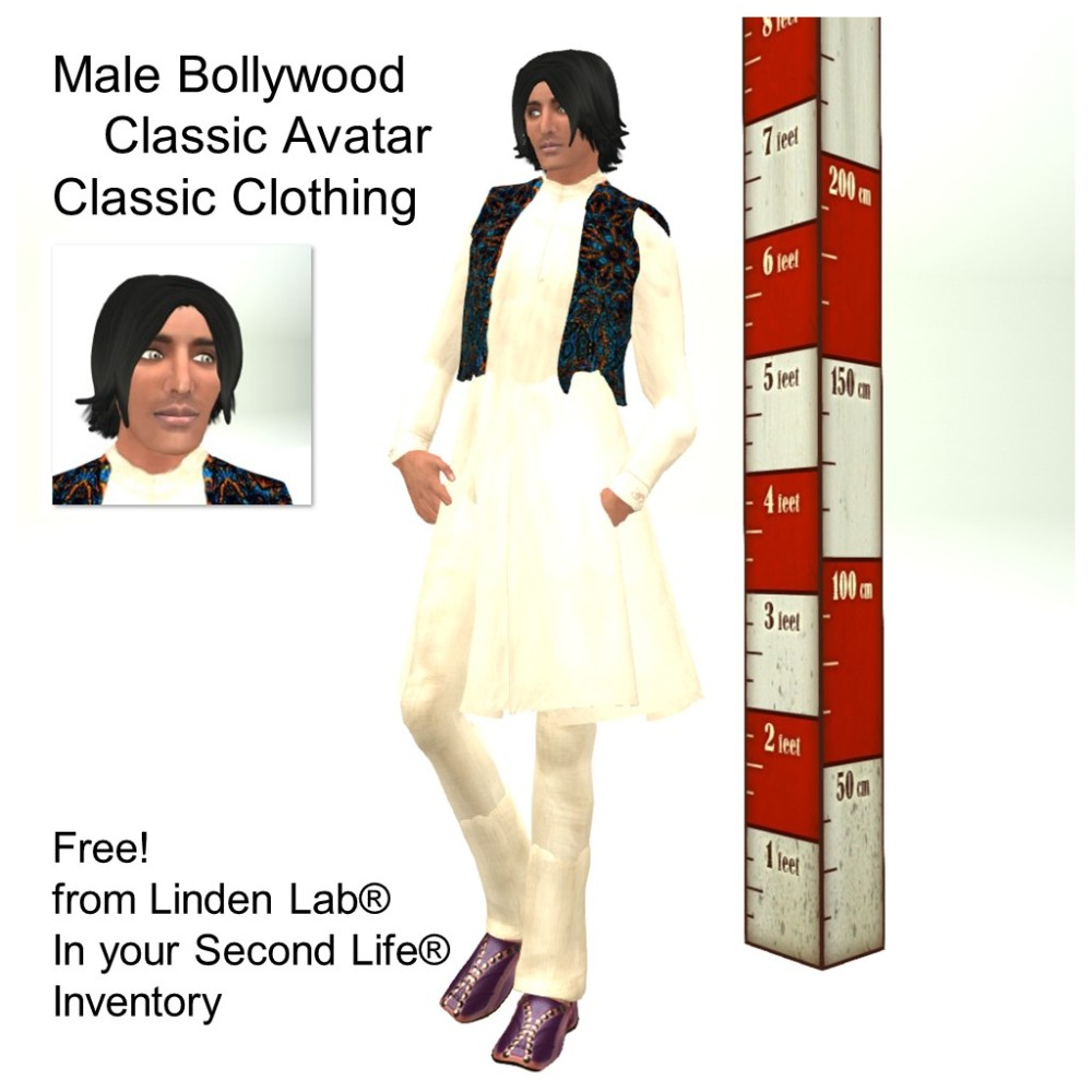 LL Avatar - Male - Male Bollywood