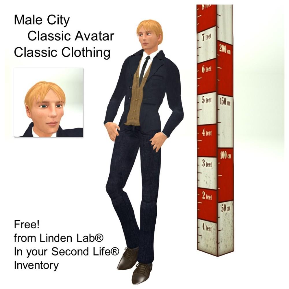LL Avatar - Male - Male City