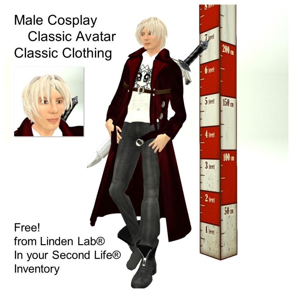 LL Avatar - Male - Male Cosplay